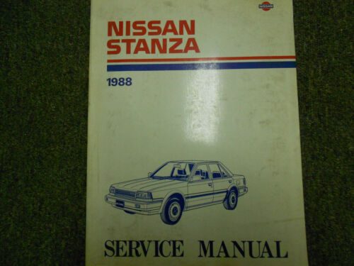 1988 Nissan Stanza Service Repair Shop Manual FACTORY Dealer Ship OEM BOOK 88