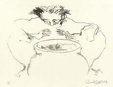 JANET BROOKS-GERLOFF - HEXENKÜCHE - KRAFT DER WISSENSCHAFT - Lithografie 2002