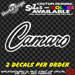 CAMARO-Custom-Vinyl-sticker-Laptop-Car-Window-Bumper-Chevrolet-SS-Z28-Toolbox