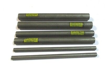 geschliffener und polierter HM Stab VHM Rundstab Ø 4 mm Hartmetall Drehling