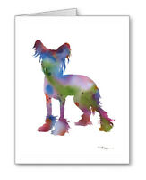 Chinese Crested Dog Note Cards With Envelopes