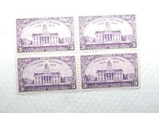 U.S Postage Iowa Territorial Centennial 1838 - 1938 4 - 3Cents Stamps