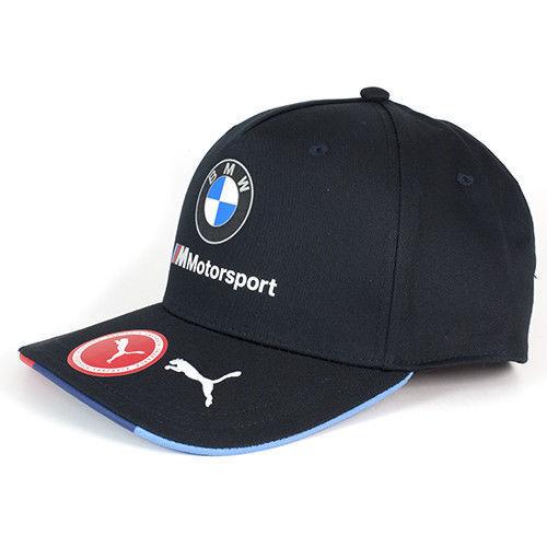 NEW FOR 2018! BMW MOTORSPORT PUMA M6 GTE -TEAM CAP- ADJUSTABLE-FREE UK SHIP