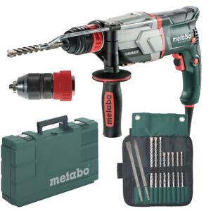 Metabo Bohrhammer Multihammer UHE 2660-2 Quick im Koffer + 10 tlg. Zubehör