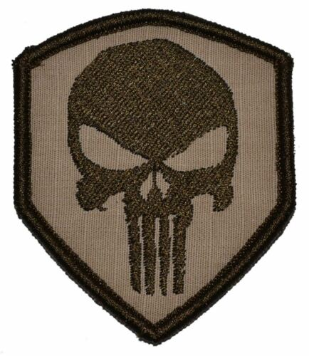 Punisher Skull 2.5x3 Shield Patch