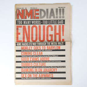 NME magazine 18 February 1984 Radio 1 special Music Biz