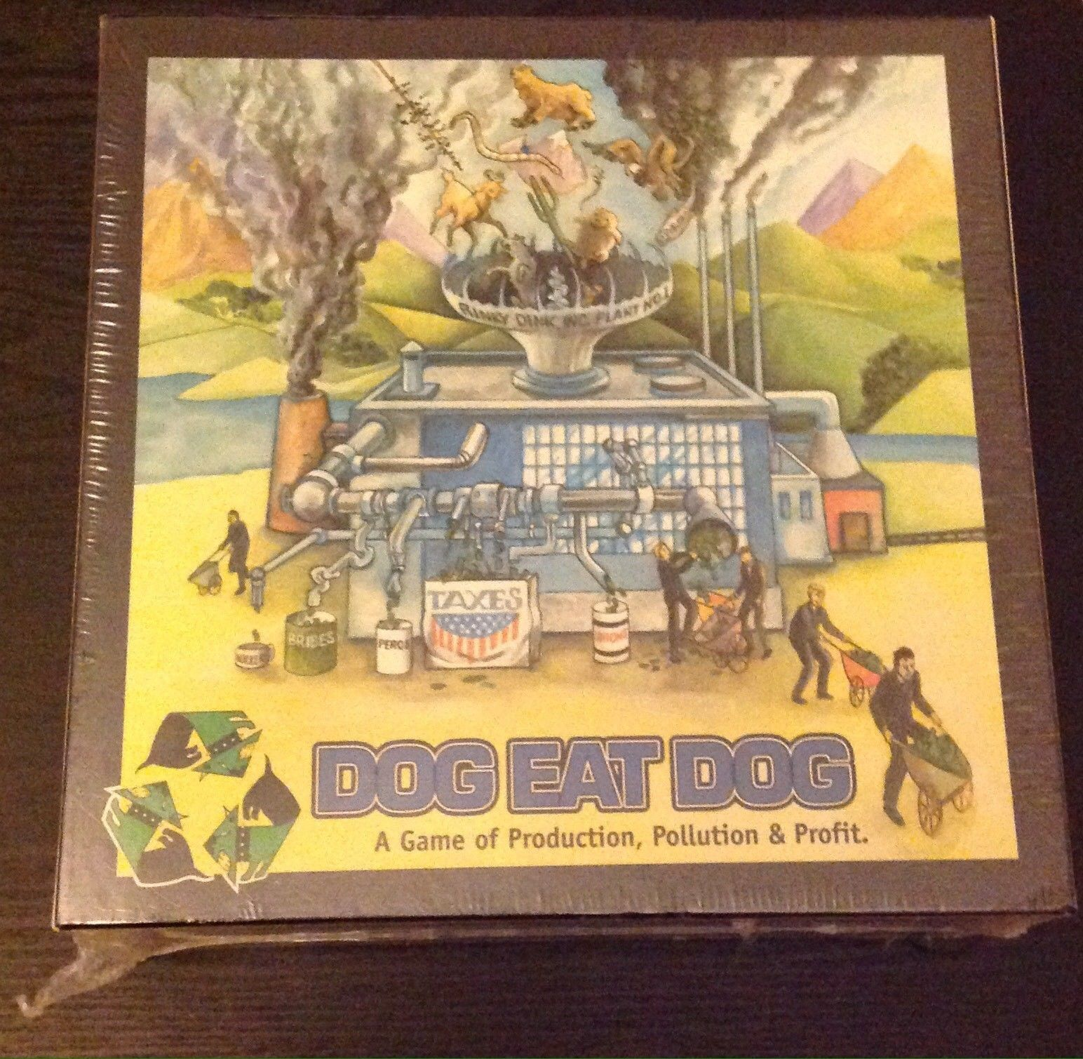Brand New and Sealed Dog Eat Dog - Vintage game from 1999