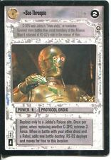 Star Wars CCG Enhanced Jabbas Palace See-Threepio