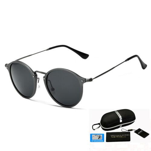 VEITHDIA Original Vintage Retro Brand Sunglasses Mens Polarized Glasses Eyewear