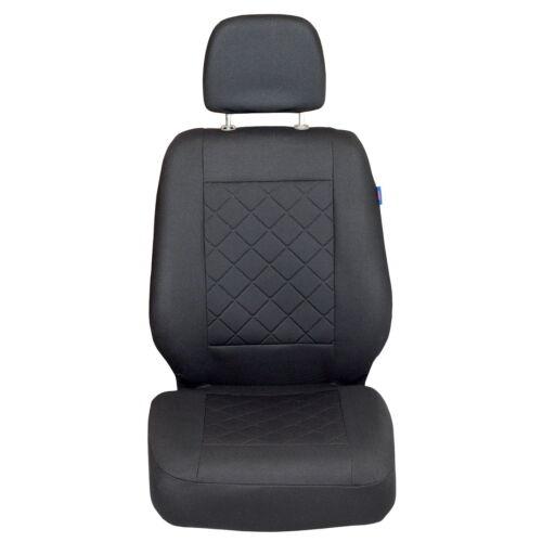 Intensiv Schwarze Sitzbezüge  PEUGEOT EXPERT Set extra Funktion Öffnung