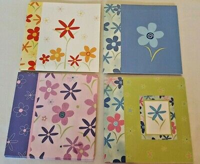 USA FLORAL GERANIUM BLANK NOTE CARDS//ENV...4 X 5.5...BEAUTIFUL! 20 LOT