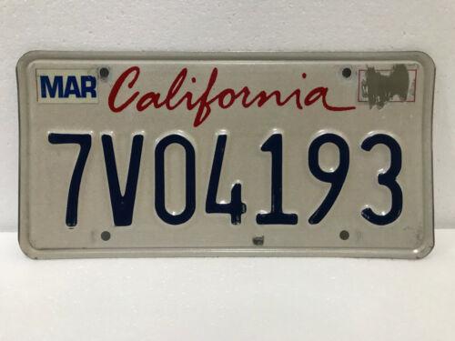 California license plate choice