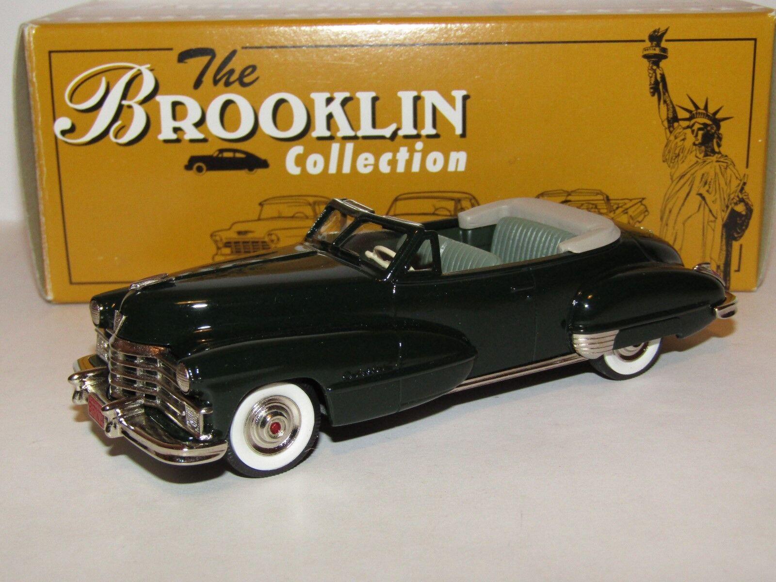 Brooklin modelle 1947 cadillac dunkelgrüne 1   43 brk74