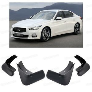 Details About Front Rear Mud Flaps Fender Mudguard For Infiniti G35 G37 Q50 Q50s 2007 2016