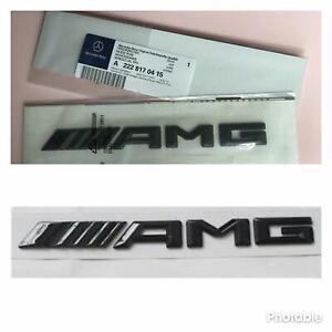 Embleme-Lettrage-de-coffre-Glossy-AMG-Mercedes-W117-Cla45-W205-C63-W212-E63-SL63