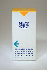 ARAMIS NEW WEST CALIFORNIA COOL DEODORANT NATURAL SPRAY FOR HIM 100 ML