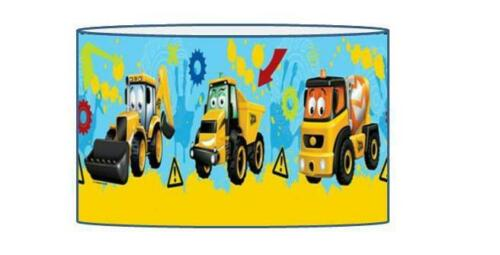 MY FIRST JCB LAMPSHADE CEILING LIGHT SHADE KIDS FREE P+P