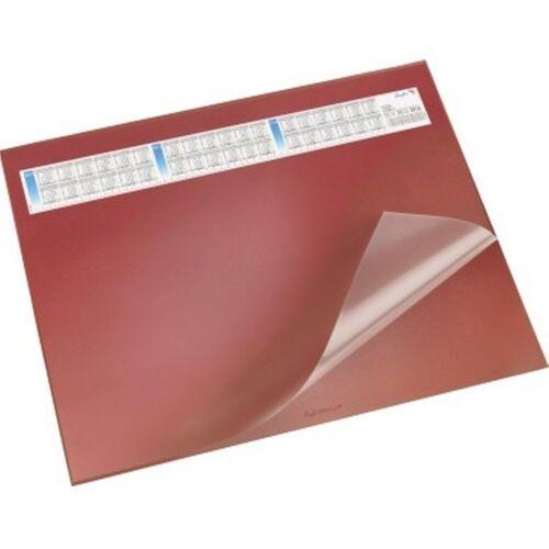 Läufer Schreibunterlage Durella DS Kalender 52x65cm rot