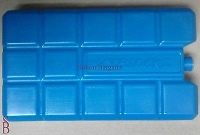 One * 400g Ice Freezer Pack Block for Coolbox Cooler Coolbag Iceblock