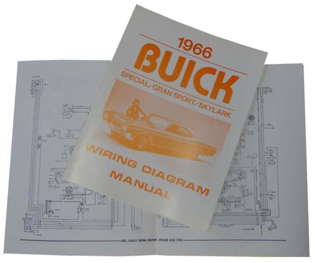 1966 Buick Wiring Diagram Manual - Skylark Special GS | eBay