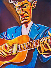 LYLE LOVETT PRINT poster release me cd large band collings guitar live in texas