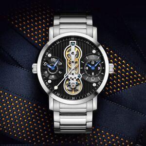 Tourbillon-Automatic-Mechanical-Mens-Watch-Luxury-Swiss-Sapphire-Crystal-Steel
