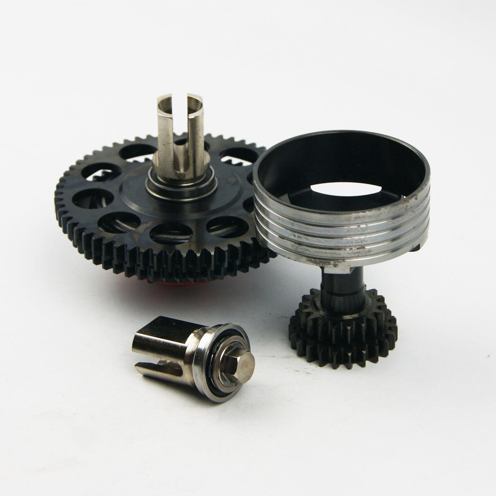 Engranaje de transmisión de 2 velocidades para dos para Losi 5ive T RV X2 LT