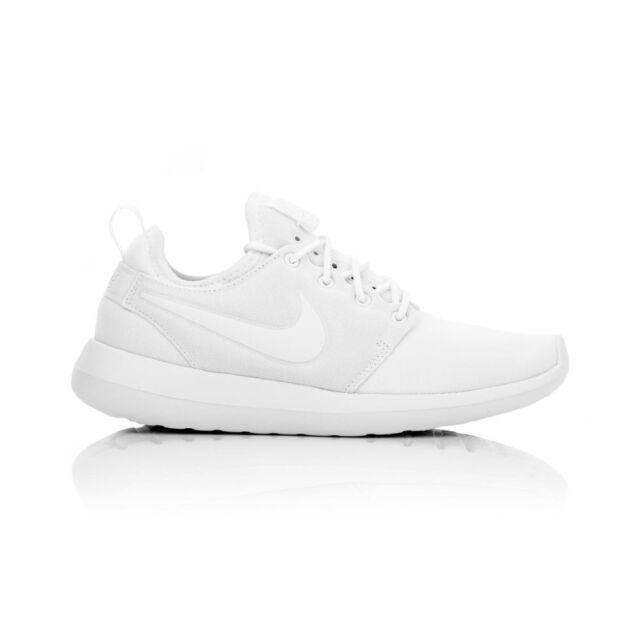 d7ed1ecfc20 WMNS Nike Roshe Two 2 Triple White Rosherun Womens Running Shoes ...