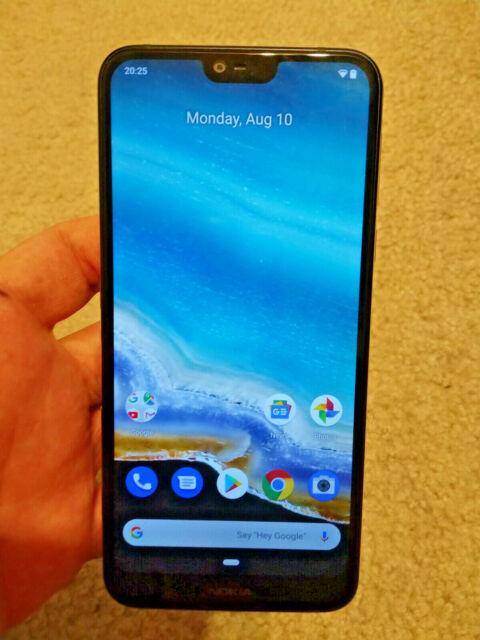 Nokia 7 1 64gb Gloss Midnight Blue Unlocked For Sale Online Ebay