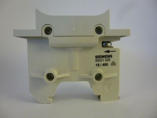 Siemens 5sg1 330 socle sauvegarde support 1p 16a Fuse-base NEUF