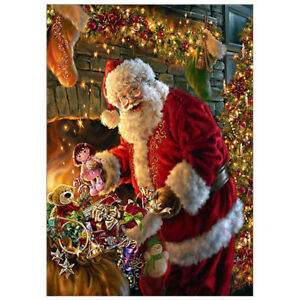 Full-Drill-Christmas-5D-Diamond-Painting-Cross-Crafts-Stitch-Santa-Claus-Decor