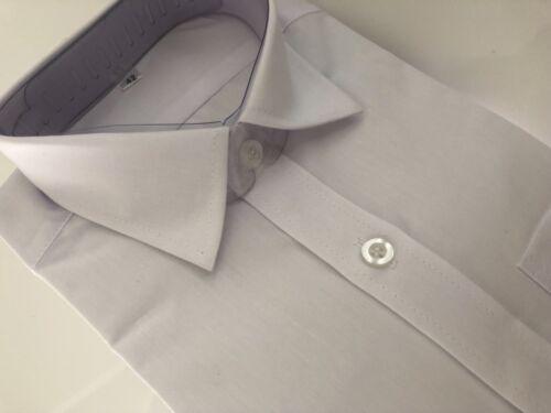 Page Boy Children Party Wedding Long sleeves Plain White Formal Shirt 2-10yrs