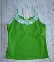 Jerdog Top X Large Tennis Tank Green Yoga Athletic Sports Aerobics Walking Xl