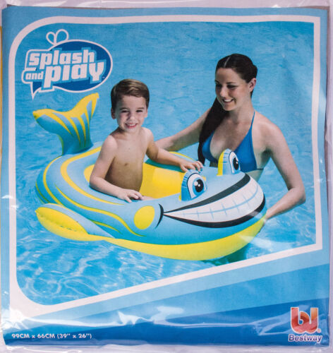 Spielzeug & Modellbau (Posten) 1 x Badeboote Badeboot Schlauchboot Kinderboot 99 x 66 cm Kinder Gummiboot Del Großhandel & Sonderposten