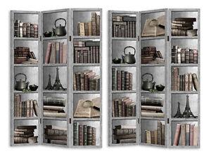 Large 3 Panels Book Shelf Room Divider Screen MEGA CLEARANCE eBay