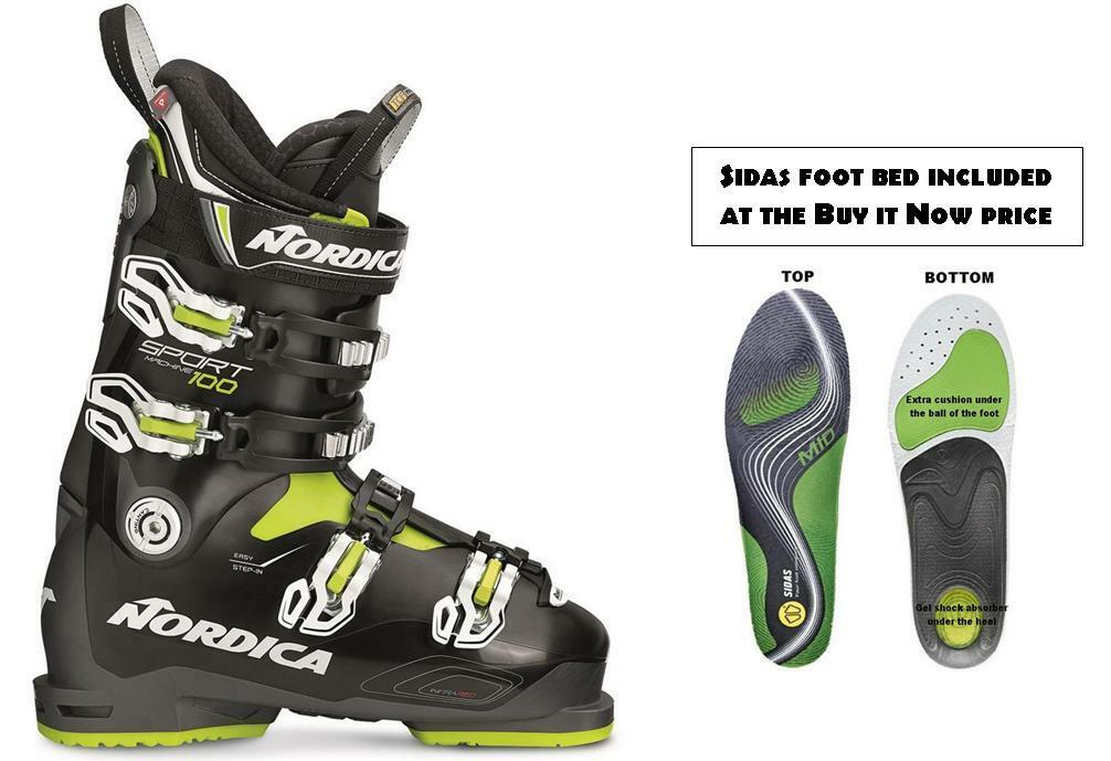 Nordica Sportmachine 100 ski Stiefel 28.5 (w-performance at INSOLE at (w-performance BuyItNow) 2019 9604a3
