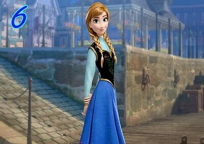 Disney Frozen Elsa Anna Olaf A4 Poster wall art print 297X210mm Free p/&p
