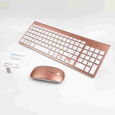 """Wireless Mini Mouse and Keyboard for Sony KD-49X8005C 49/""""4K UHD Smart TV SV HS"""