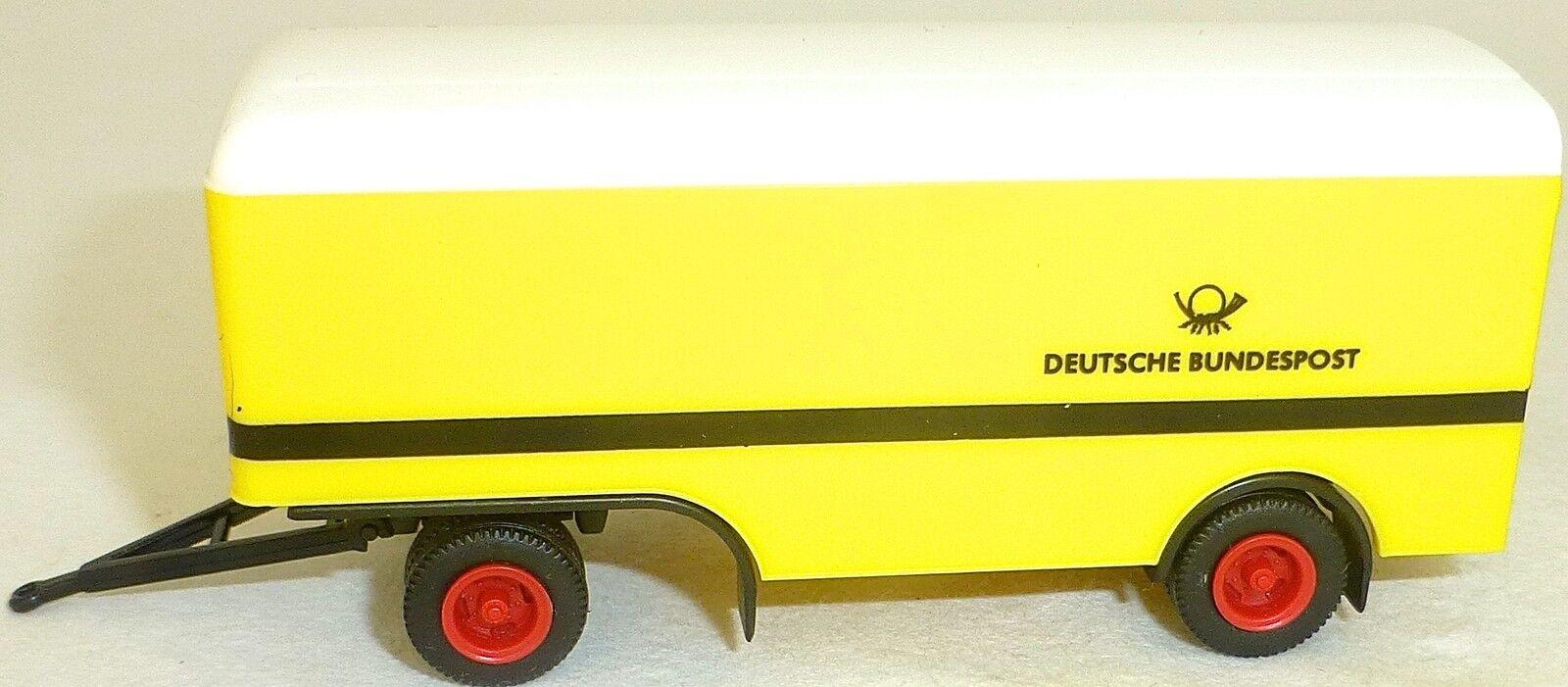 Deutsche Bundesport Camion   Remorque Remorque Remorque Années 1960 H0 1 87 sans Emballage Å 5248ee