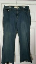 GAP Low Rise Flare Stretch Jeans Size 18 R