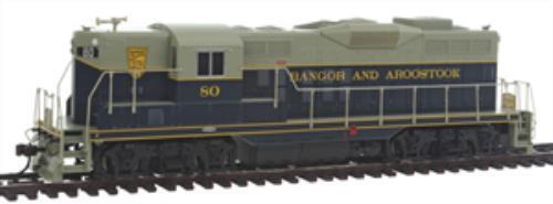 Bachmann bac62812 EMD gp9  Bangor and aroostok   80