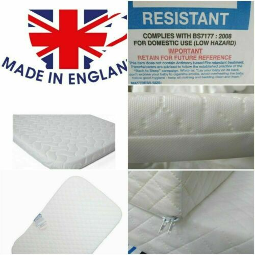 83 50 5 Next to me Chicco Crib mattress Made in England Zip Cover Waterproof UK