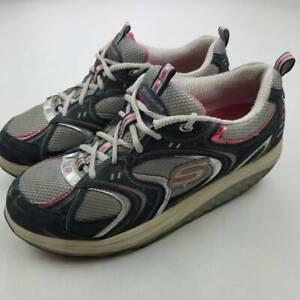 Skechers-Womens-Shape-Ups-Walking-Toning-Shoes-Multicolor-11806-Low-Top-11-M