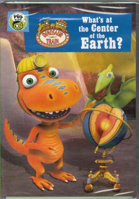 Dinosaur Train: Whats at the Center of the Earth (DVD, 2017) New