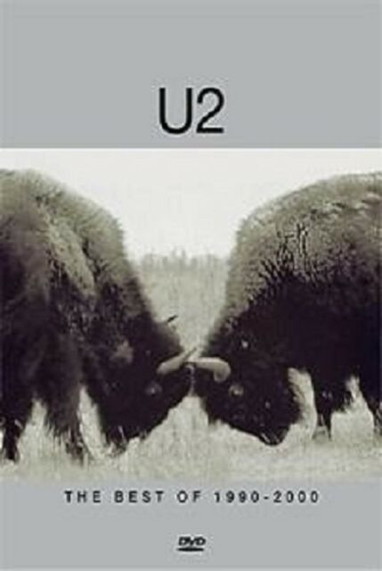 U2 'THE BEST OF 1990-2000' DVD NEW!!