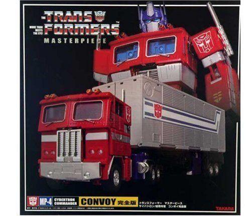 Transformers Masterpiece Mp-04 Optimus Prime Convoy Nuevo