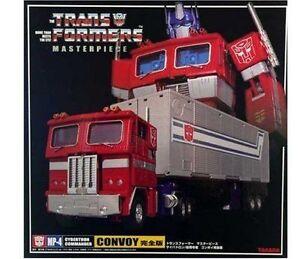 Transformers Masterpiece Mp-04 Optimus Prime Convoy Nouveau