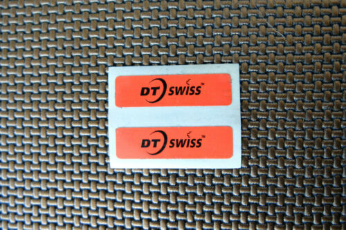 NEW OLD STOCK DT SWISS Ovale Rouge Roues Moyeux route Tri Ride Vélo Autocollant Decal