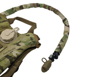 2pcs Thermal Insulation Tube Cover For Bladder Bag Hydration Pack Army Green