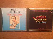 Paco de Lucia [2 CD Alben] Entre Dos Aguas + Friday Night San Fra./ Al di Meola